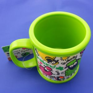Plastic Cup Mug with 3D PVC Cover, Customized Cute Kids Gifts Plastic PVC Sheep Cup pictures & photos