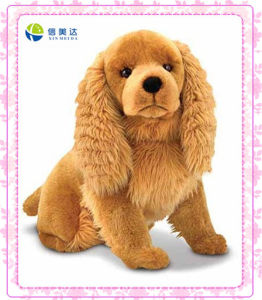 Fashion Brown Long Ears Dog Stuffed Toy pictures & photos