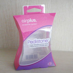 Handle Top Customized Pet/PVC/PP Clear Soft-Crease Plastic Packaging Boxes pictures & photos