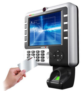 Fingerprint Multimedia Time and Attendance and Professional Access Control with Camera (TS9-BAUCM1S02)