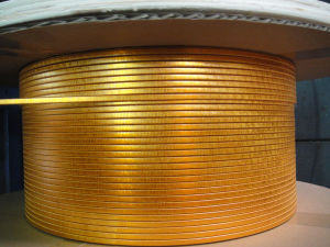 Self-Adhesive Glass-Fiber Covered Film (mica tape) Covered Rectangular Wires pictures & photos