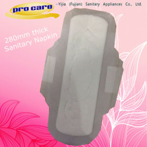 Good Quality and Ultra Soft 280mm Thick Sanitary Pad pictures & photos
