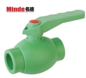 PPR Ball Valve with Brass Ball Type C pictures & photos
