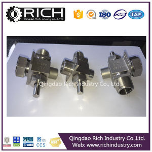 Textile Machine Connector / Valve Media Body/Valve Part/Stainless Steel Spare Parts, Turning Parts, Stainless Ste Parts/ Machinery Part/CNC Machining/Hardware pictures & photos