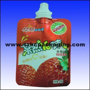 Printing Spout Bag for Juice Milk Yogurt Water