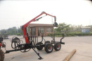 Wagon Log Gripper Trailer (3T)