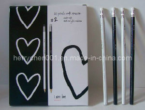 Full Color Printing Hb Recycled Paper Pencil (SKY-802) pictures & photos