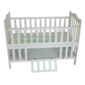 Baby Cot, Baby Furniture, Solid Wood Crib (GF-003)