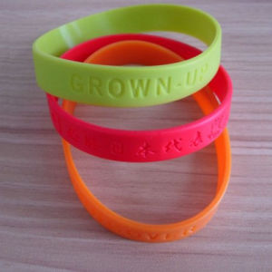 PVC 3D Design Wristband (ASNY-WB-TM-114) pictures & photos