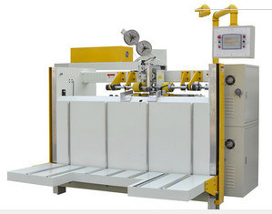 Semi Automatic Carton Boxing Stitching Machinery