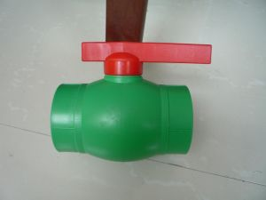 PP-R Ball Valve with Lever Operator pictures & photos
