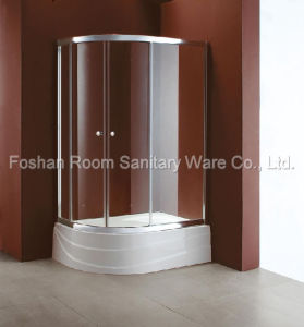 Shower Door - Arc-Shaped Sliding Door (S-B9046B)