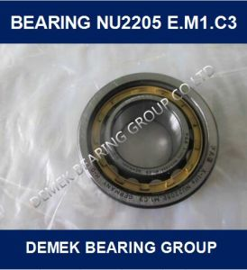 Cylindrical Roller Bearing Nu2205 E. M1. C3 Brass Cage pictures & photos