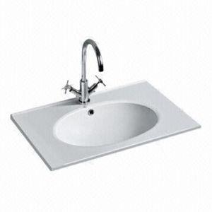 Rectangle Ceramic Washbasin, Ceramic Wash Sinks pictures & photos