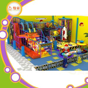 Colorful Children´ S Indoor Soft Playground for Sale pictures & photos