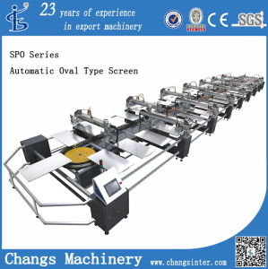 Spo Series Automatic Oval Type Screen Printing Machine pictures & photos