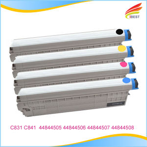 Made by China Top Factory Vivid Color Compatible Toner Cartridge for Oki C831 C841