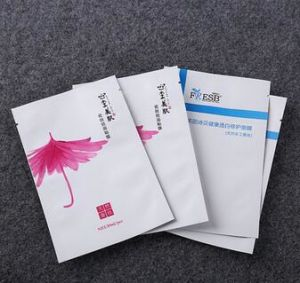 Gravure Printing Foil Facial Mask Pouch Bags Cosmetic Packaging pictures & photos