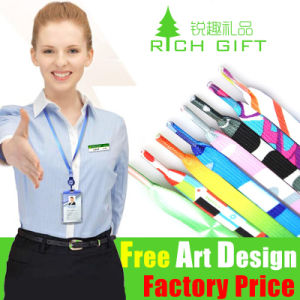 Eco-Friendly Promotional Custom Printing Ribbon Lanyard for Ticket Holder pictures & photos