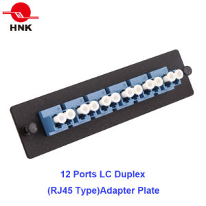 36 Cores 1u Rack Mount Patch Panel with Telescopic Rails pictures & photos