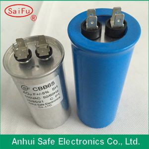 Waterproof Capacitor Cbb65 Have Self-Healing BOPP Film pictures & photos