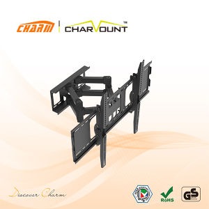 LCD TV Clamp Bracket Full Motion, Cold Rolled Steel TV Bracket Wall Mountct-Wplb-1702) pictures & photos
