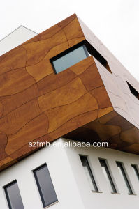Outdoor Decorative High Pressure Laminate Wall Cladding pictures & photos