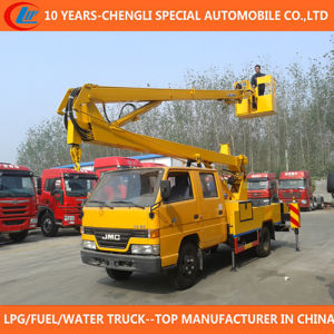 14m 16m High Platform Operation Truck Bucket Truck for Sale pictures & photos