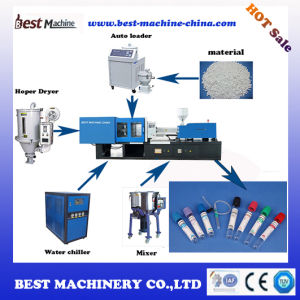 Plastic Moulding Machine for Blood Collecting Dish pictures & photos