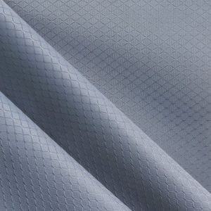 Oxford Diamond Grids Shiny PVC/PU Polyester Fabric pictures & photos