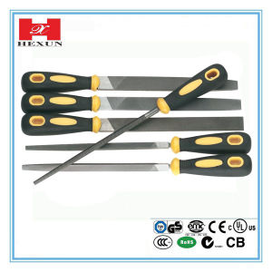 Berrylion T12 Material Dual Color Smooth Tool Half Round File pictures & photos