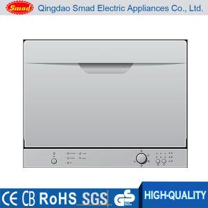 6 Sets Mini Dishwasher Machine Countertop Dishwasher pictures & photos