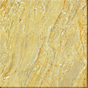 Gold Rock Marble Full Polished Glazed Tiles with Grade AAA pictures & photos