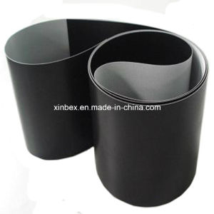PVC Black Matt Flat Conveyor Belt for Logistic/Counter/Checking/Printing pictures & photos