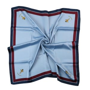 Royal Quality Pure Silk Printed Scarf Custom Logo Brand Label Hanky Pocket Square for Men and Lady Formal Neckwear (LS-33) pictures & photos