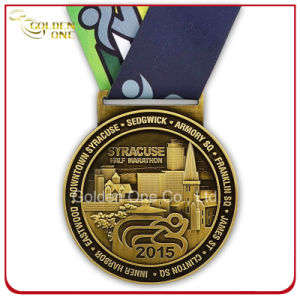 Wholesale High Quality Custom 3D Engraved Medallion pictures & photos