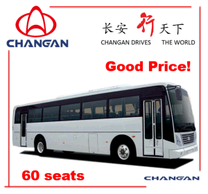 11m Passenger Bus with Competitive Price Tourist Bus Sc6108 60+ Seats pictures & photos