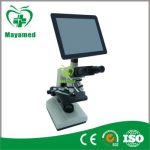 My-B125f Hot Selling LED Display Binocular Biological Microscope pictures & photos