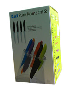 Paper Package Box for Tableware (Knife) Made in China