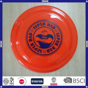 Promotional Round Solid Color Plastic Frisbee pictures & photos