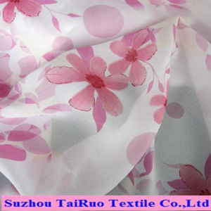 Chiffon of High Quality Polyester Printed Fabric for Ladies Fashion pictures & photos