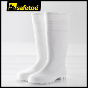 Low Price High Quality Safety PVC Rain Boots Unisex W-6036 pictures & photos