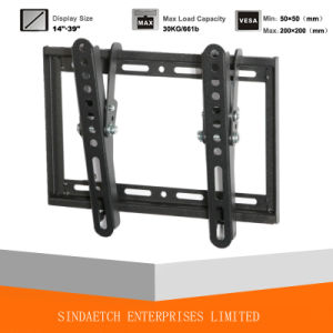 Tilt TV Bracket with Low Profile pictures & photos