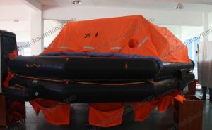 Hot Sale 35 Persons Throw Overboard B Pack Liferafts pictures & photos