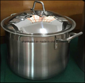 Stainless Steel Deep Stockpot Kitchenware pictures & photos