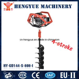 Metal Material and Anti-Slip Grip Mini Hole Digger Ground Drill pictures & photos