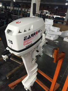 Outboard Engine 15HP 2stroke Enduro Model Powerful Gasoline Boat Motor pictures & photos