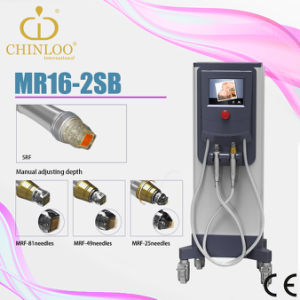 Guangzhou Facial Derma Rolling RF Microneedle Machine (MR16-2S) pictures & photos