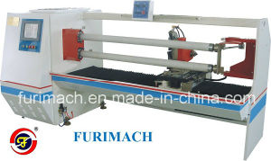 Quality Double Shafts Automatic Cutting Machine/BOPP Tape Cutting Machine pictures & photos