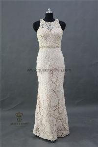 New Design Elegant Lace Mermaid Weddings Sleeveless Bridesmaid Dress pictures & photos